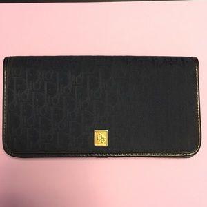 Dior vintage 'modele exclusif' wallet